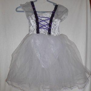 Childrens Small Purple Princess / Fairy Costume